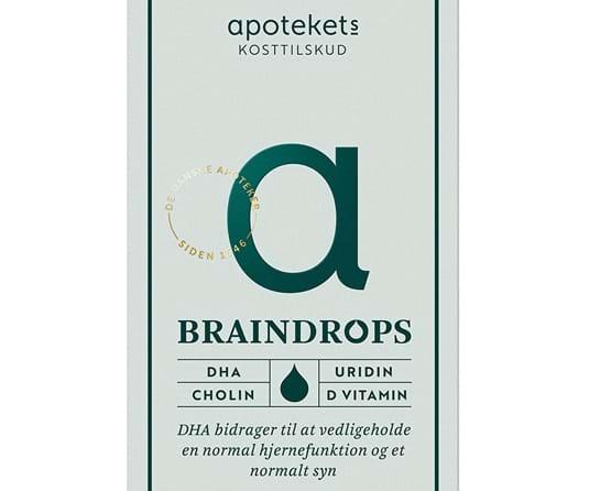 Apotekets Kosttilskud Braindrops 100Ml