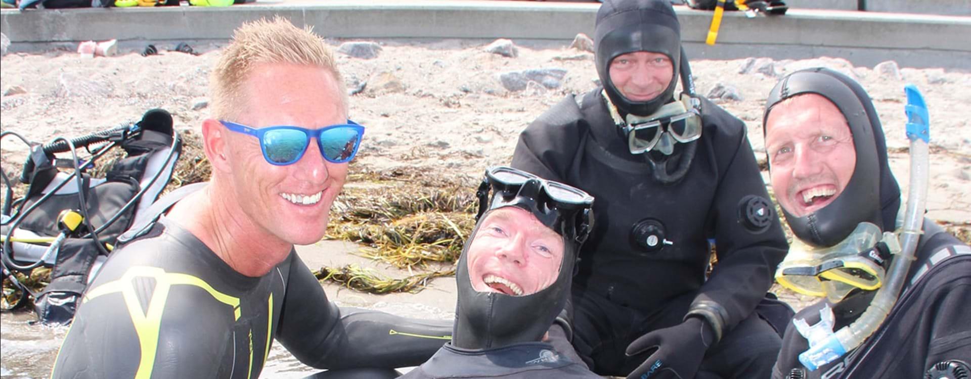 Dykning på Åbent Hav